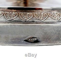 Anciennes Impériale Russe 84 Argent 88 Salière Faberge Ère Pan Slave