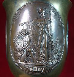 Antique 1837 Impériale Russe Orthodoxe Coupe Chalice (faite Par Fedor Tolstoï)