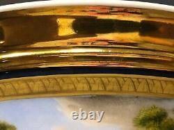 Antique 19c Imperial Russian Porcelain Bowl (gardner)