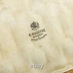 Antique 19ec Imperial Russie Faberge Silver-gilt 12 Cafée Spoons C. 1890