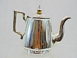 Antique 84 Argent De Russie Imperial Teapot St Petersburg 1878 Merveilleux