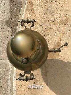 Antique Batashov Ball De Russie Imperial Samovar 4 Tsar Timbres Fin Du 19ème Siècle