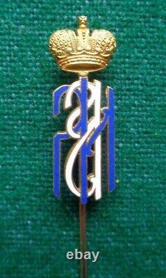 Antique Gold Tiffany Pin Imperial Russian Presentation Grand Duke Romanov Etats-unis