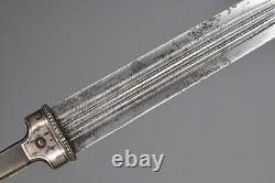 Antique Imperial Dague Russiale Georgien Kindjal Épée Caucasienne Silver