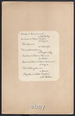 Antique Imperial Russian Coronation Menu Tsar Nicolas II Maire De Moscou Dîner
