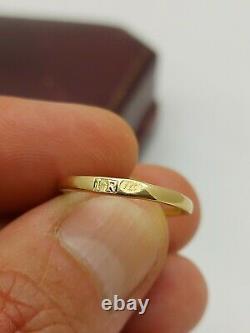 Antique Imperial Russian Faberge 18k 72 Or 1.5ct Diamonds Ring Boucles D'oreilles Ensemble