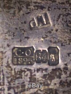 Antique Impériale Russe 84 Argent Vers 1895