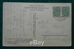 Antique Impériale Russe Carte Postale De Photo Mystic Rasputin Assassiné Prince Youssoupov