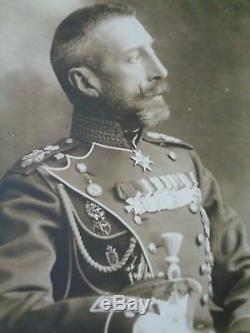 Antique Impériale Russe Carte Postale Photographique Grand-duc Konstantine Kr Romanov