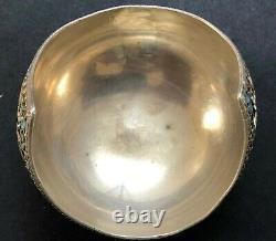 Antique Impériale Russe Émaillé 88 Gilded Silver Bowl (n. Alekseev)