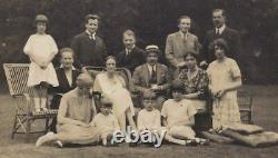 Antique Impériale Russe Grande-duchesse Xenia Romanov Réunion De Famille Frogmore
