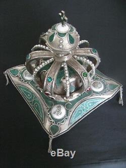 Antique Lepine Paris Verge Fusée Impériale Russe Alexandre II 1856 Horloge De Bureau