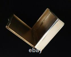 Antique Morozov Imperial Russian 88 Silver Cigarette Vesta Case Pill Snuff Box