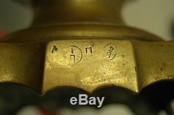 Antique Old Russian Imperial Soviétique Tula Brass Batashev Samovar Tea Urn