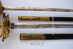 Antique Petite Épée Russe M1855 Pour Les Fonctionnaires De L'état Impérial