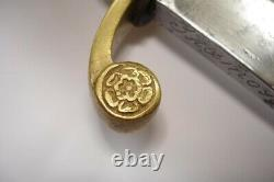 Antique Russe Imperial Dragoon Officers' Sword Sabre M1841