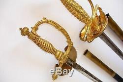 Antique Russe Petite Épée M1855 Pour Imperial State Fonctionnaires