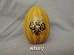 Antique Russie Russie Impériale Porcelaine Oeuf De Pâques 1910