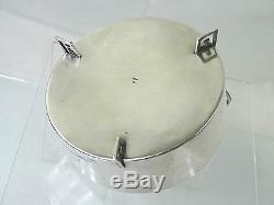 Antique Silver Imperial Russe 84 Candy Dish Moscow Art Nouveau Forme Rare