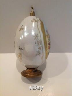 Antique-imperial-russe-porcelaine-œufs De Pâques-saint-pétersbourg-19ème Siècle