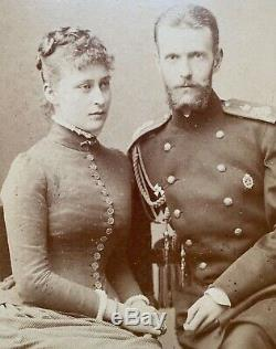 Backofen Photo Grande-duchesse Ella Grand-duc Sergei Romanov Impériale Russe