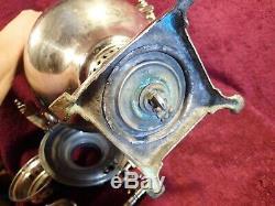 Belle Forme Lourde Antique Samovar Marqué Slyuzberg Russie Impériale Russe