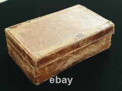 Bolin Antique Impérial Russe European Cufflinks Earings Presentation Case Box