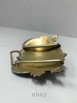 Boucle De Ceinture En Émail Russe Impérial En Argent. 11e Artel Moscou. Antique