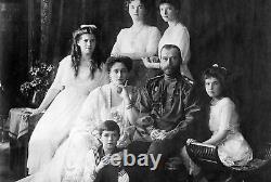 Cadre Russe D'image Impériale D'or, Tsariza Alexandra Feodorovna