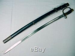 Chachka Épée Antique Fourreau De La Vieille Russie Impériale Russe Ww1 Officier De Cavalerie