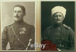 Chachka Épée Osman Antique Impériale Russe Cosaque Officier