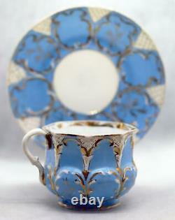 Collection Antique De Tasses Et Assiettes De Porcelaine Russe Impériale Kuznetsov