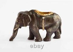 Éléphant Impérial Russe D'or Et D'argent, H. W. Henrik Wigstrom