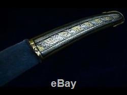Épée Chachka () Rare Antique Impériale Russe Argent