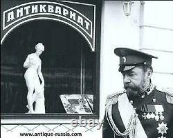 Grande Cuillère Cloisonne Émail Argent 84 Dmitriy Nikolaev Antiquité Impériale Russe
