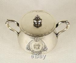 Imperial Antique Sazikov Russe 84 Set Argent Thé