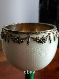 Imperial Russian Magnificent Silver Éamel Jewelled Cup (enamel Jewelled Cup)