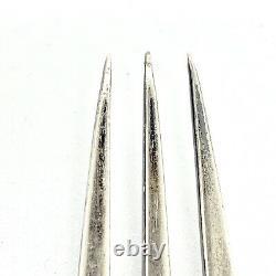 Impériale Antique Russe Émail Argent 84 Fourchette