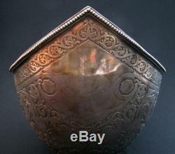 Impériale Russe Argent Massif Bowl Kovsh Ovchinnikov De Auction House