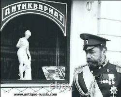 Kurlukov Original Incroyable Silver Set 84 Antique Russie Impériale Russe Vintage