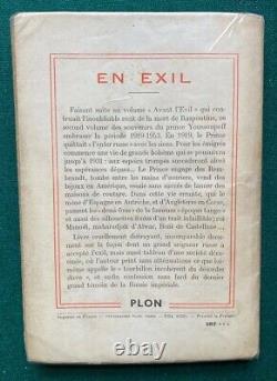 Livre Antique Signé Imperial Prince Russe Felix Yusupov En Exil Raspoutine