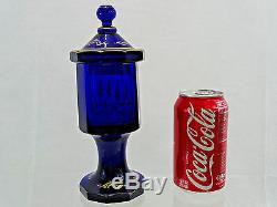 Magnificent Antique De Russie Imperial Doré En Verre Gobelet Cup Goblet Début 19 Cen