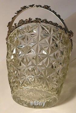 Panier Impériale Russe 84 Cristal D'argent Kiev 1886 Rubies Emeralds Citrine