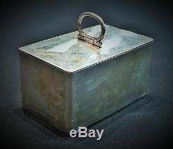 Pavel Sazikov, Impériale Russe 84 ° Argent Gilt Box, Saint-pétersbourg, Ca. 1856