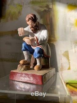 Porcelaine Antique Impériale Russe Manufacture Chiffre Fabricant De Chaussures De Filasse Gardner