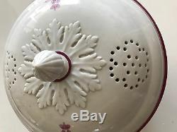 Rare Alexander II Antique Russe Céramique Imperial Porcelaine Soup Bowl