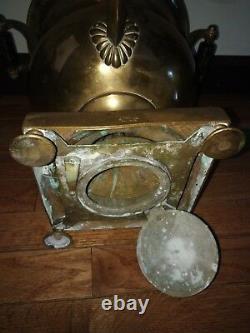Rare Antique Russe Imperial Bronze Samovar / Tea Coffee Urne. Malikov ( Malikov )