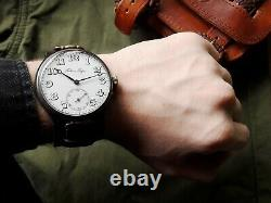 Rare Paul Buhre Oversize Trench 1900 Ww I 1 Swiss Imperial Russian Wrist Watch