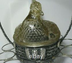 Rare Vase Pour Les Œufs De Pâques Et Émail Argent 84 Impériale Russe De Moscou 1873