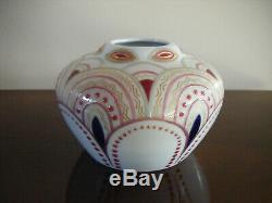 Russian Imperial Vase En Porcelaine Usine Nicolas Ii, 1909